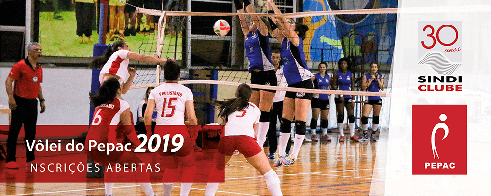 Inscricao Volei PEPAC 2019