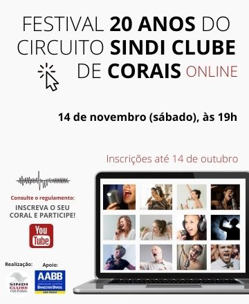 Festival-20-Anos-do-Circuito-Sindi-Clube-de-Corais-Online